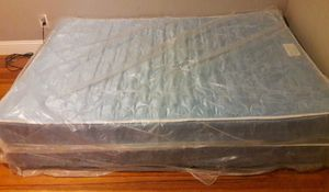 Mattress/Box set with frame for Sale in Boston, MA