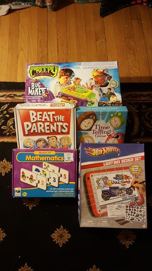 Lot 5 games for kids for Sale in Nashville, TN