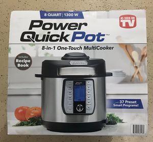 Power Quick pot 8 in 1 multi cooker 8qt-New in Box for Sale in Santa Susana, CA