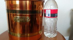Copper Cookie can/Jar $12.00 firm for Sale in Tustin, CA