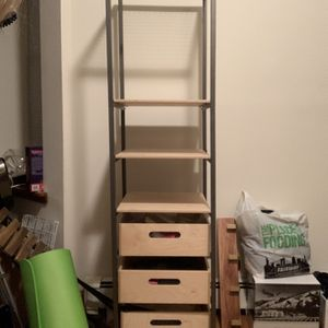 Ikea Standing Storage Unit With 3 Drawers for Sale in New York, NY