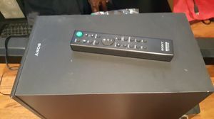 Sony Sound bar with Subwoofer super sound $90 for Sale in Santa Clara, CA