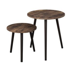 Set of 2 Side Tables,original Price Was $41.99,now Only For $21 for Sale in Chino, CA