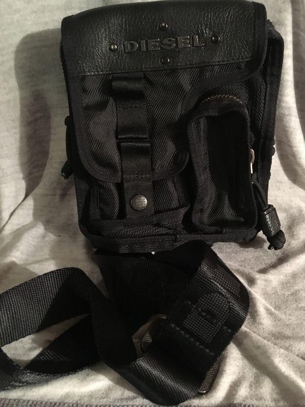Diesel small Black nylon bag