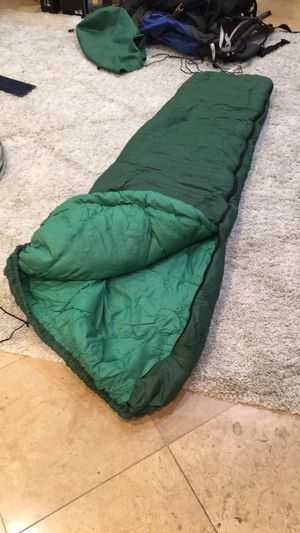 Green sleeping bag for Sale in Orem, UT