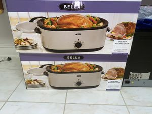 New Bella 18 Qt Roaster Oven for Sale in Baltimore, MD
