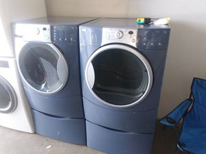 🏭❤Kenmore elite washer and dryer electric nice set🏭❤ for Sale in Houston, TX