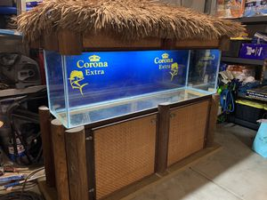 125 gallon custom fish tank for Sale in Perris, CA