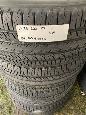 235 60 17 bfgoodrich for Sale in Hanover Park, IL