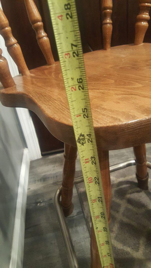 "26""inch high beautiful bar stools plus wine rack"