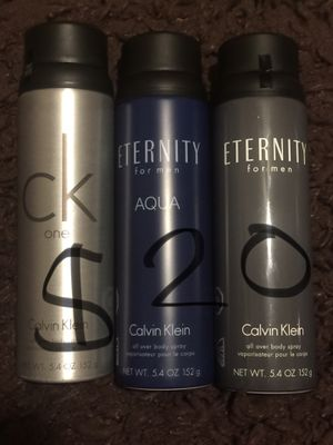 Men's all over body spray & Body wash for Sale in Fort McDowell, AZ