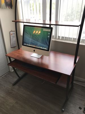Computer / Office Desk with Sliding Keyboard Drawer (stand only - computer not for sale) for Sale in North Miami, FL