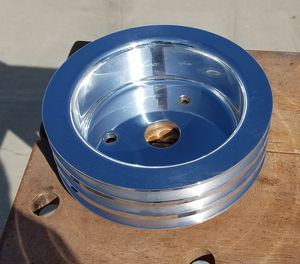 BB chevy #BB83320 crank shaft 3 groove pulley for Sale in Montclair, CA