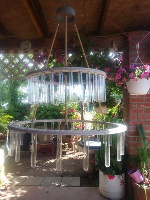 Two tiered chandelier vases for Sale in Fresno, CA