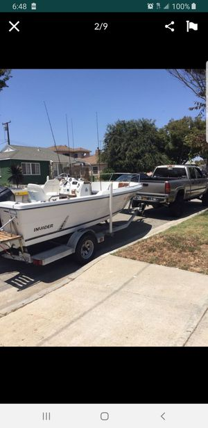1989 Invader 17' center console 80hp mercury for Sale in Carson, CA