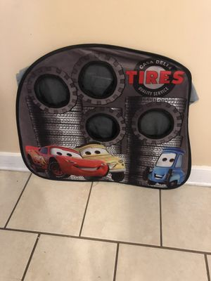 Cars toss game for kids and several balls for Sale in Pittsburgh, PA