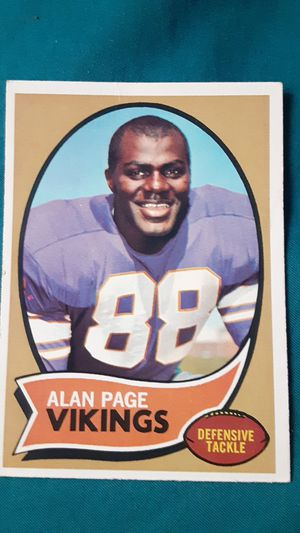 1967 Alan Page rookie card for Sale in Hewitt, MN