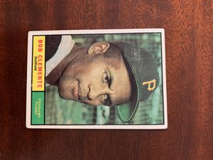 1961 Topps Roberto Clemente Pittsburgh Pirates for Sale in Raynham, MA