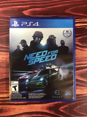 PS4 Need For Speed for Sale in Chicago, IL