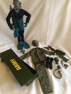GI Joe 12' Action Figure and accessories $50 for Sale in Toms River, NJ