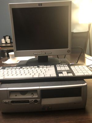 Computer, monitor and keyboard for Sale in Chicago, IL