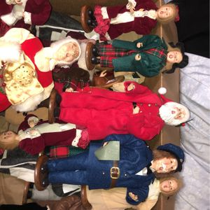Antique Christmas Dolls for Sale in Dallas, TX