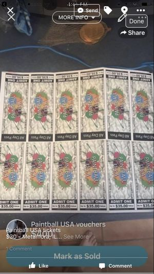 Paintball USA tickets for Sale in Metamora, IL