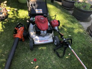 Honda mower weed eater echo blower for Sale in Richland, WA