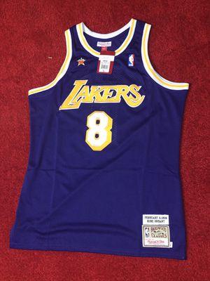 Kobe Bryant Lakers 1998 throwback jersey men's large for Sale in Atlanta, GA
