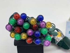 1pck Commercial G12 Led Christmas Lights Outdoor Indoor Multicolor Tree Lights,17Ft 50 Mini Globe Ball String Lights for Sale in Carrollton, TX