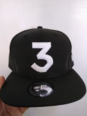 CHANCE THE RAPPER 3 NEW ERA SNAPBACK HAT BRAND NEW for Sale in South Gate, CA