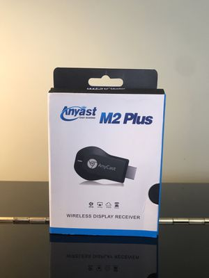 Anycast 4K wireless hdmi (M2 plus version) (fire tv/chromecast/airplay/apple tv/miracast) for Sale in Washington, DC