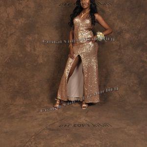 Rose Gold Sequin Prom Dress for Sale in Atlanta, GA