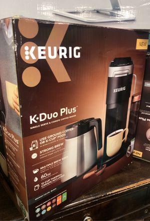Keurig k•duo plus coffee maker for Sale in Houston, TX