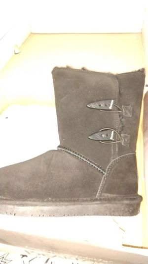 Bearpaw Abigail black size 7 and 8 boots like UGG brand new in box other colors and styles available for Sale in Denver, CO