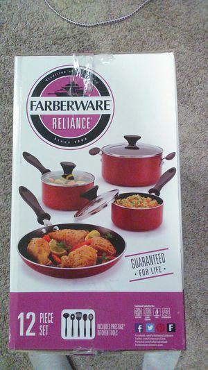 Farberware Reliance 12 Piece Set Includes 5piece PRESTIGE Kitchen Tools for Sale in Danvers, MA