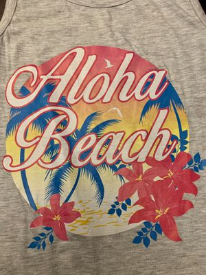 "Girls' Limited Too ""Aloha Beach"" fringe tank for Sale in Clovis, CA"