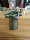 Ceramic toothbrush holder & small pot for Sale in North Ridgeville, OH