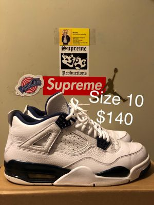 4's Legend Blue, Size 10 $140 for Sale in Lanham, MD