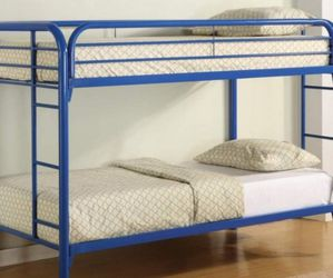twin over twin metal bunk beds brand new in a box for Sale in Philadelphia,  PA