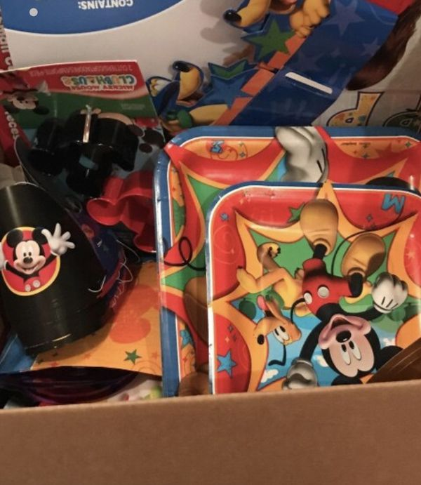 Mickey Mouse birthday supplies