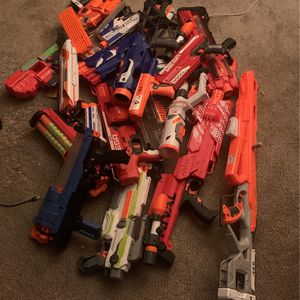 Nerf Guns, Bullets and Accessories for Sale in Denver, CO