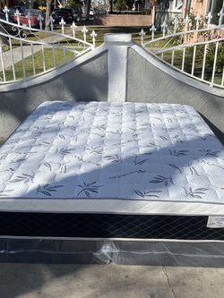 Brand new pillow top MATTRESSES ✅ COLCHONES NUEVOS PILLOW TOP 💯 for Sale in Brea,  CA