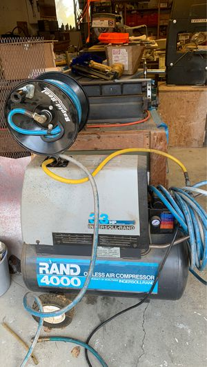 Air compressor with additional reel for Sale in Cambria, CA