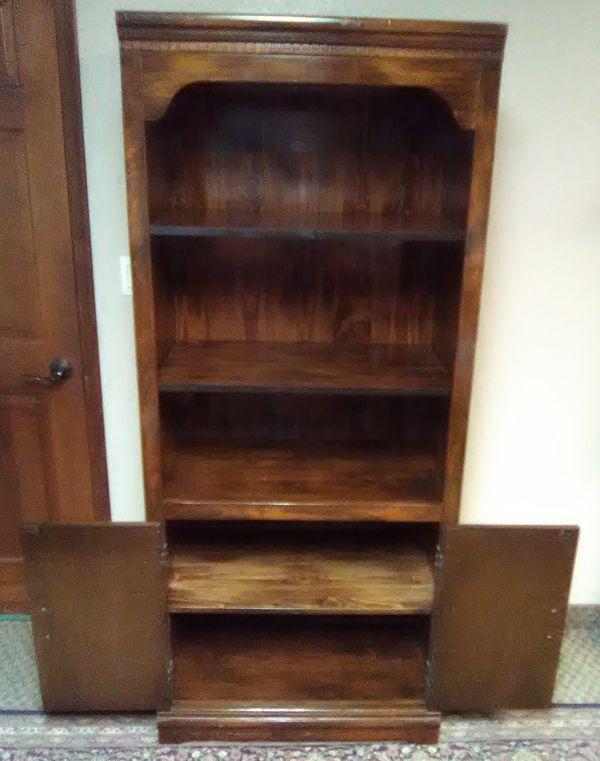 Two door book case