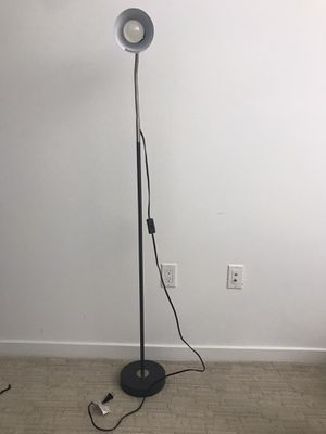 Floor lamp with super bright light bulb for Sale in San Jose, CA