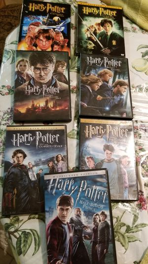Like new 10 DVDs harry potter for Sale in Fort Lauderdale, FL