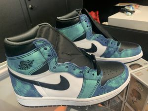 JORDAN 1 TIE DYE for Sale in Inglewood, CA