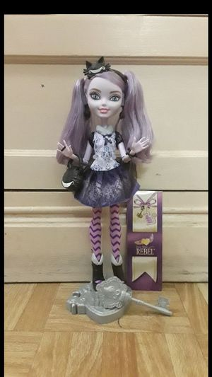 Ever after high doll (kitty chesire) for Sale in Phoenix, AZ