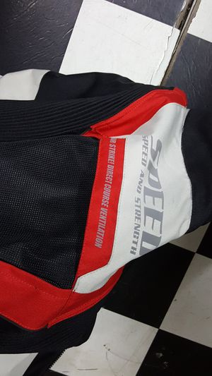 SPEEED AND STRENGTH XL MOTORCYCLE JACKET for Sale in Raleigh, NC